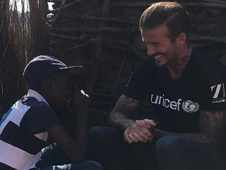 David Beckham Shares Sweet Photo from His 'Inspiring' Visit with Children in Africa