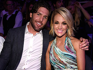 Carrie Underwood Jokes About Husband Mike Fisher and CMTs Host JJ Watt Play Fighting Over Her: 'I'm a One Man Woman!'