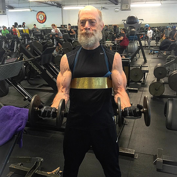 J.K. Simmons Reveals N... Jaleel White Muscles