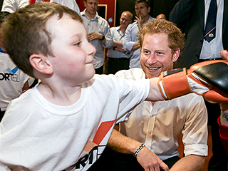 Prince Harry Steps Into the Ring During Visit at Amateur Boxing Club: 'Are You Going to Be the Next Muhammad Ali?'
