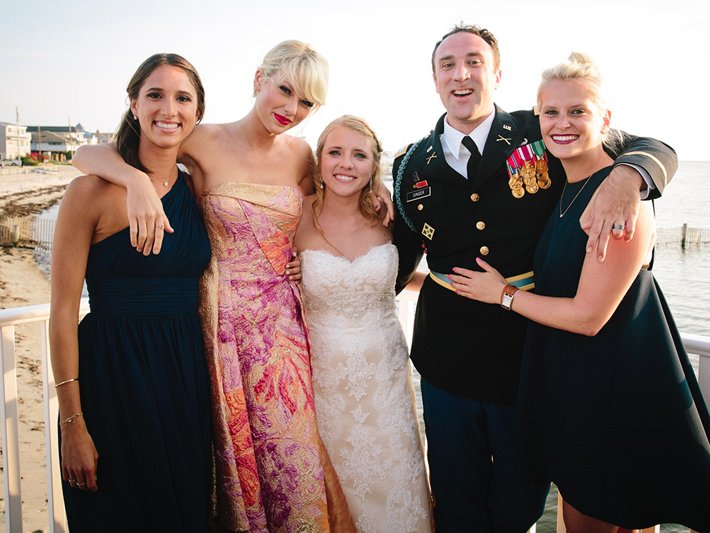 ... at His Wedding (and Gave Him a Handmade Gift) Weddings, Taylor Swift