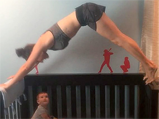 Fit Mom Who Works Out with Her Kids Has a Message for Critics: 'I Know My Skill Set'
