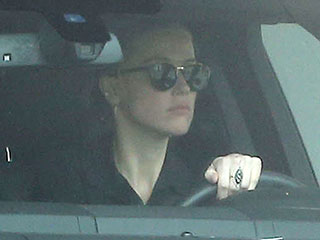 Amber Heard Spotted Driving in Los Angeles Ahead of Restraining Order Hearing Against Johnny Depp