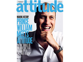Prince William Becomes First Royal to Pose for LGBT Magazine