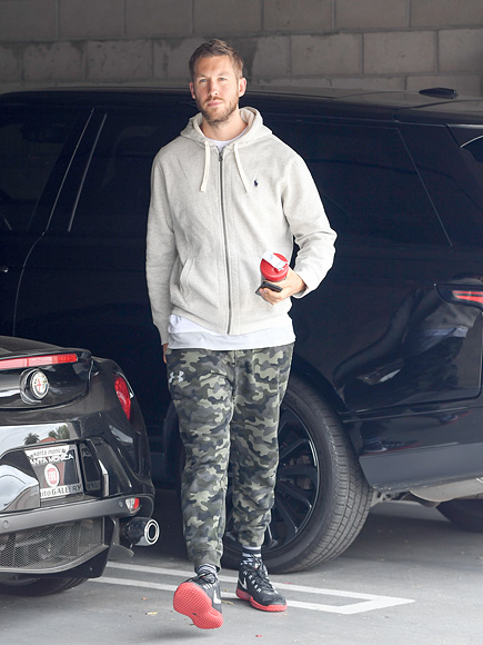 Calvin Harris Promotes New Music Video on Instagram