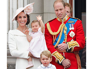 All the Photos from Princess Charlotte's Balcony Debut with Prince George Are Guaranteed to Make You Smile