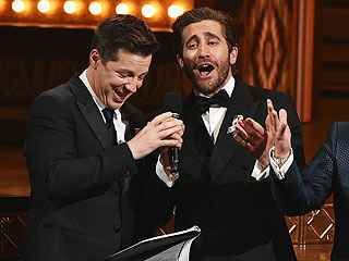 FROM EW: Watch Jake Gyllenhaal, Sean Hayes and James Corden Sing 'A Whole New World' at the Tonys