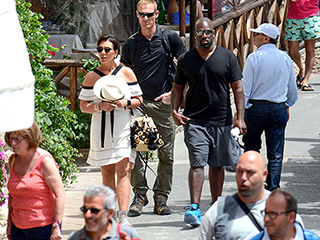 Kris Jenner and Boyfriend Corey Gamble Tour the Sights During European Getaway in Capri