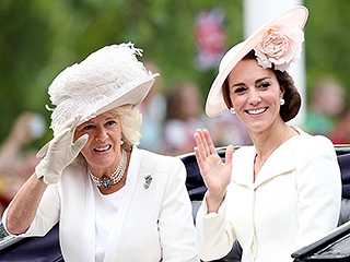 See Princess Kate in Her Carriage and Prince William on His Horse – in All Their Trooping Splendor!