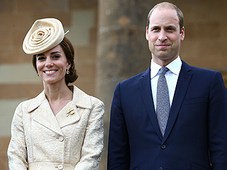 Princess Kate Wears Special Shamrock Brooch (It Was a Wedding Gift!) to Elegant Garden Party in Ireland