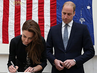 Somber Prince William and Princess Kate Pay Their Respects to Orlando Victims at U.S. Embassy in London
