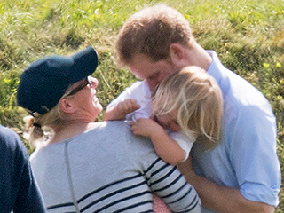 Cuteness Overload: Prince Harry Leaves Cousin Zara's 2-Year-Old Daughter Mia Laughing After Tickle Attack