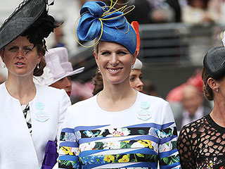 You Need to See Zara Tindall's Crazy Curtsy – and Crazier Dress!