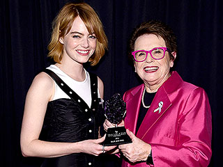 Emma Stone Reveals What Happened When She Played Tennis against Billie Jean King