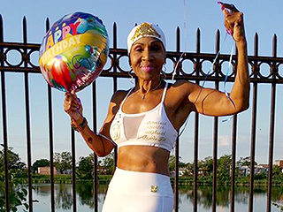 Oldest Female Bodybuilder Turns 80, Still Wakes Up at 2:30 a.m. to Train: 'It's My Joy'