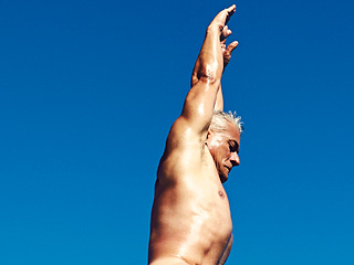 See Greg Louganis' Stunning Naked Shot for ESPN Bodies Issue as 56-Year-Old Diver Opens Up About Living with HIV