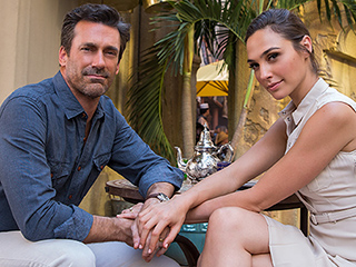First Look! Jon Hamm and Gal Gadot Make a Sexy Spy Couple in Keeping Up with the Joneses