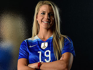 See Soccer Star Julie Johnston Shop for a Wedding Dress as She Talks Prepping for the Rio Olympics: 'It's a Really Busy Summer!'