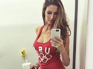 Model Katherine Webb Shows Off Her Body One Month After Welcoming Son with AJ McCarron