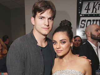 Mila Kunis and Ashton Kutcher Enjoy Adults-Only Comedy Night in Seattle
