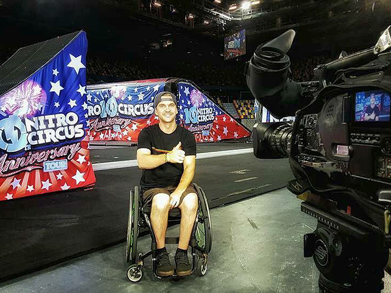 WATCH: Motocross Star Bruce Cook Sets a World Record in the Sport That Paralyzed Him