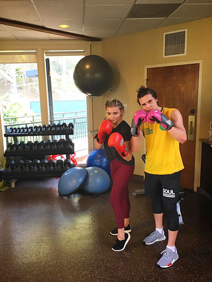 From SoulCycle to Boxing! Chloë Grace Moretz and Boyfriend Brooklyn Beckham Up Their Fitness Game Together with Workout Date