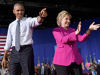 President Obama Gets 'Fired Up' with Hillary Clinton in His 2016 Campaign Debut in North Carolina