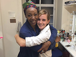 #Hermiones! Emma Watson Meets Harry Potter and the Cursed Child Actress Noma Dumezweni