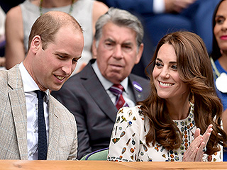 Princess Kate and Prince William Lead the Celebrity Cheer Squad for Andy Murray at Wimbledon