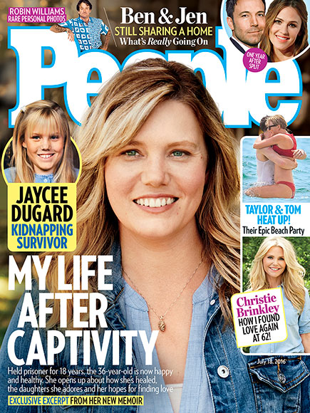 Jaycee Dugard Freedom My Book Of Firsts Peace Justice