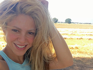 The Struggle Is Real: Shakira Takes Us Behind-the-Scenes of Her Epic Selfie Shoot