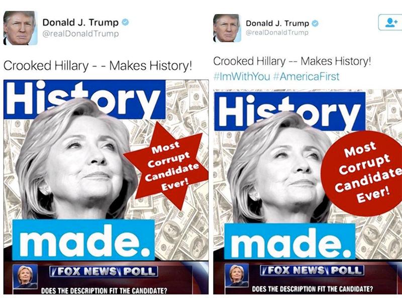 news politics trump star david meme campaigning article