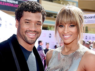 Ciara and Russell Wilson Attend Their Rehearsal Dinner in Liverpool Ahead of Wedding Later in the Week