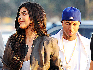 Kylie and Tyga Step Out Holding Hands at Kanye's Premiere as Source Says 'She Can't Resist Him and He Can't Resist Her'