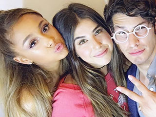 Ariana Grande Reunites with Her Victorious Co-Stars – See the Pic!