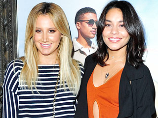 High School Musical Reunion! Ashley Tisdale and Vanessa Hudgens Dance and Sing Along at Pal Selena Gomez's L.A. Concert