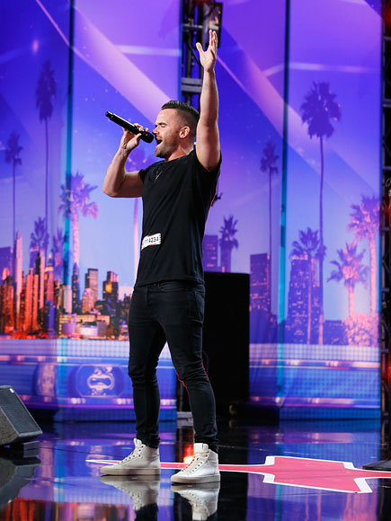 Brian Justin Crum Hopes to 'Inspire the LGBT Youth' After Wowing America's Got Talent Judges with His Powerful Voice