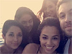 Calvin Harris Parties on Private Yacht with Brunette Beauties in Cabo San Lucas Getaway