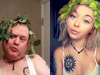 Washington Dad Hilariously Recreates His Teen Daughter's Provocative Selfies So She'll 'Tone It Down'