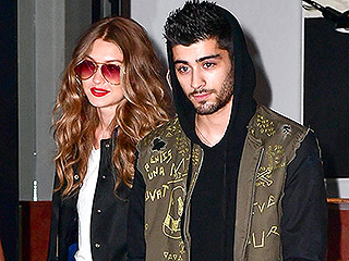 Twinning! Zayn and Gigi Hadid Hold Hands in Matching Letterman Jackets During Romantic New York Stroll