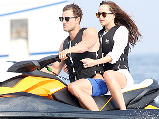 Dakota Johnson and Jamie Dornan Make a Sexy Splash While Filming Fifty Shades Freed in the French Riviera