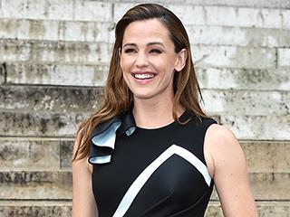 Jennifer Garner Stuns in Front Row at Paris Fashion Week Alongside Bradley Cooper