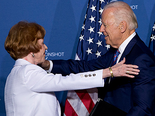 'Moonshot Is All of You': Carol Burnett Teams Up with Joe Biden on Quest for a Cancer Cure