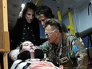 Johnny Depp Meets with Paralyzed Fan Ahead of Concert: 'It Meant the World to Me,' She Tells PEOPLE