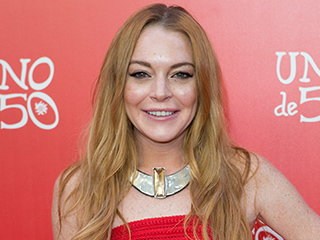 Lindsay Lohan Accepts Honor of Turning on Christmas Lights in English City After Making 'Offensive' Brexit Tweets About It