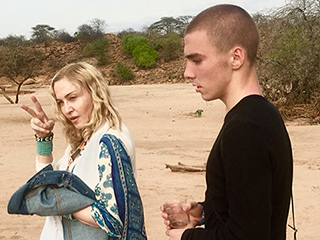Madonna's Emotional Trip to Africa Continues with Visit to Her Children's Birth Villages