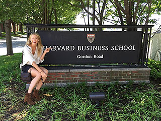 'Hey Harvard!' Maria Sharapova Attending Business School for 2-Week Program During Tennis Ban