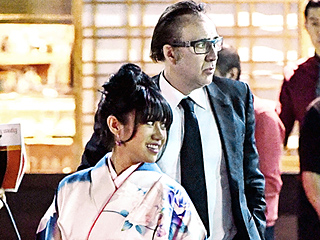 Nicolas Cage Shares PDA-Filled Date with Kimono Wearing Mystery Woman