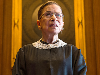 Ruth Bader Ginsburg Can Probably Do More Push-Ups Than You – At Age 83