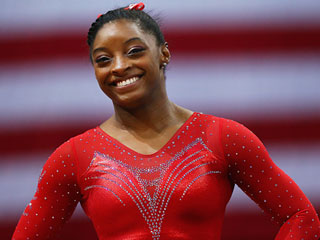 Simone Biles Is Taking Her Gold Medals to Rosewood: Gymnast Scores Pretty Little Liars Set Invite